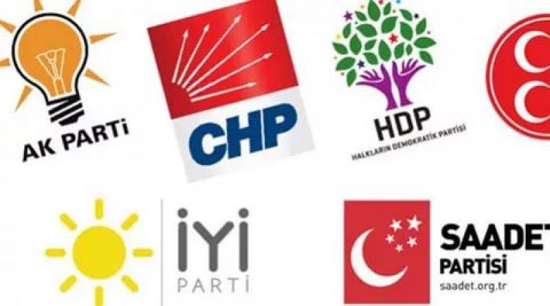 Siyasi partilerin üye sayıları dört ay sonra açıklandı: AK Parti ve CHP'de artış, MHP'de azalış yaşandı