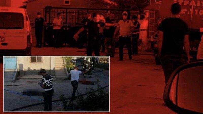 Konya'da katliam! Evi basıp 7 kişiyi öldürdüler