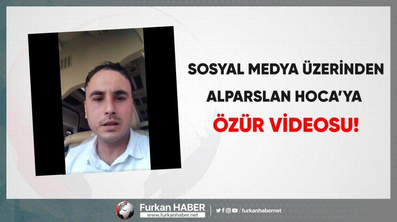 Sosyal medya kullanıcısından Alparslan Hoca'ya özür!