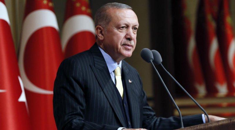 Erdoğan: Yaklaşık 8 milyar insanın kaderi 5 ülkenin insafına bırakılamaz; 190 ülkeye bir süreliğine masada oturma hakkı veren ancak kendi kaderleri ile ilgili söz hakkı tanımayan bir sistem adalet üretemez