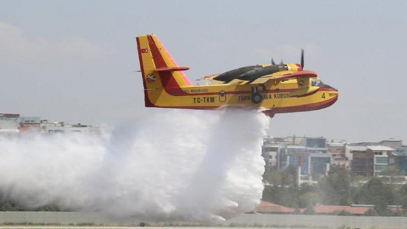 AB, Türkiye'ye 3 yangın söndürme uçağı gönderiyor