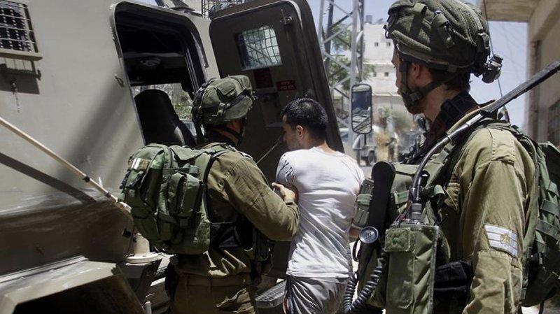 İşgalci İsrail 8 günde 60 Filistinliyi gözaltına aldı