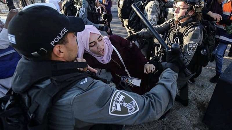 Siyonist işgalciler Şeyh Cerrah'ta Filistinlilere saldırdı