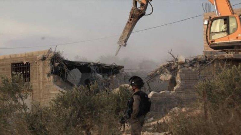 İşgalci İsrail o köyü 188. kez yıktı