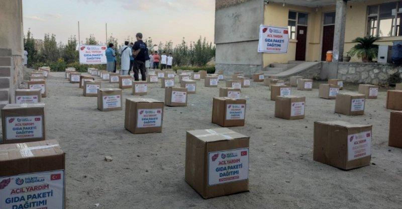 Türkiye'den Afganistan'a yardım