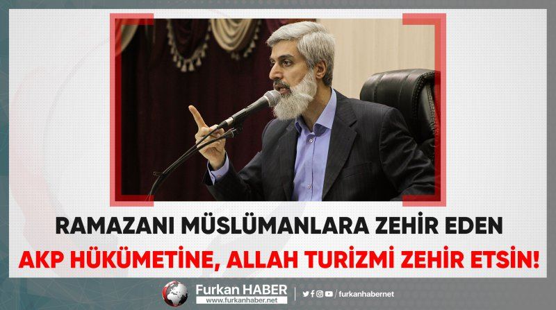 Alparslan Hoca'dan Ramazan Yasaklarına Sert Tepki!