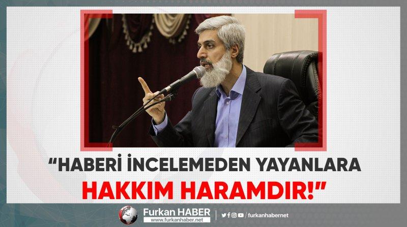 Alparslan Hoca'dan 'Ankara'da Şeriat Çağrısı Yapan Bildiri' Hakkında Açıklama!