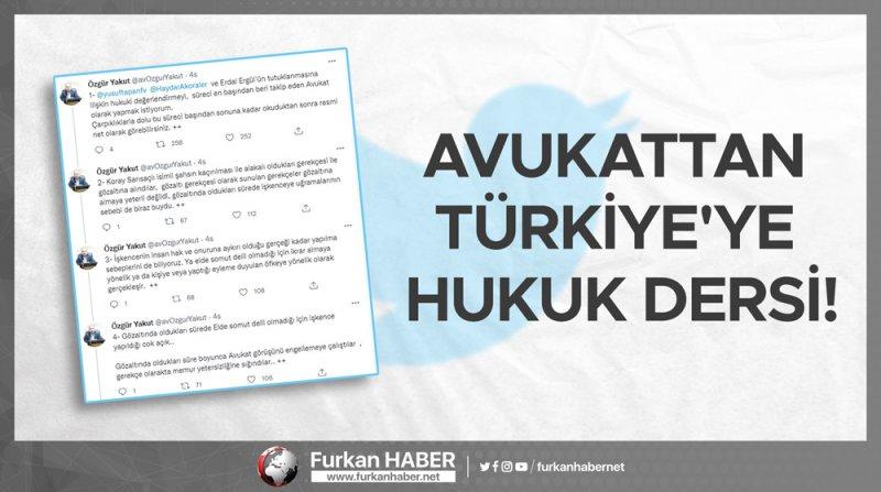 Avukattan Türkiye'ye Hukuk Dersi!