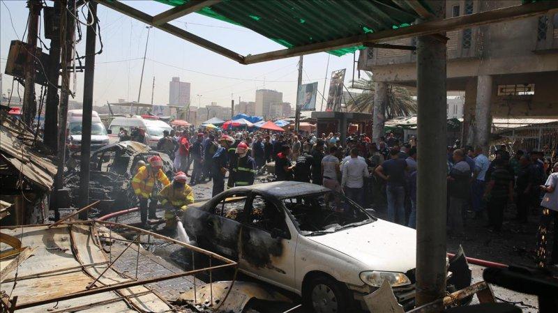 Bağdat'ta bombalı saldırı: 3 ölü, 16 yaralı