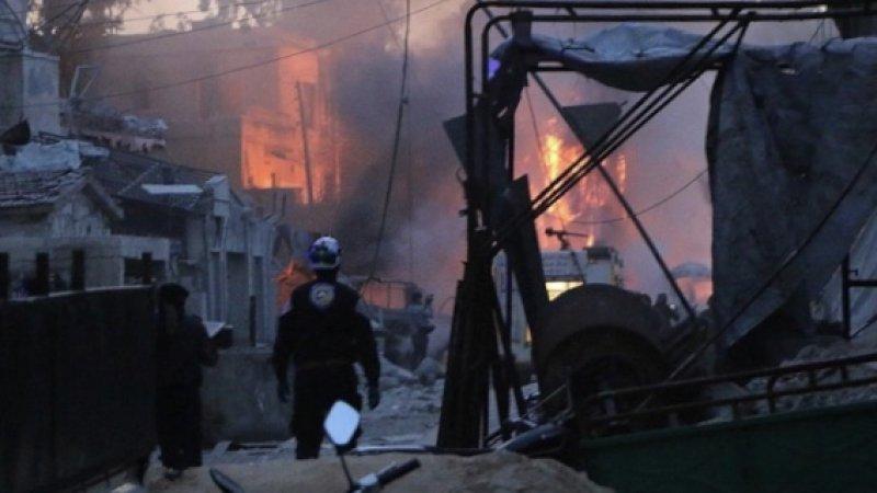 Esed rejimi, Beyaz Baretliler'e saldırdı: 1 ölü, 4 yaralı