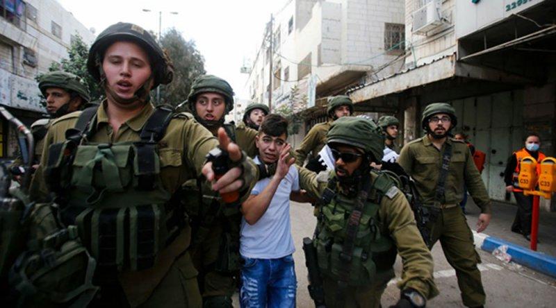 Yılın başından bu yana esir alınan Filistinli çocuk sayısı bini aştı