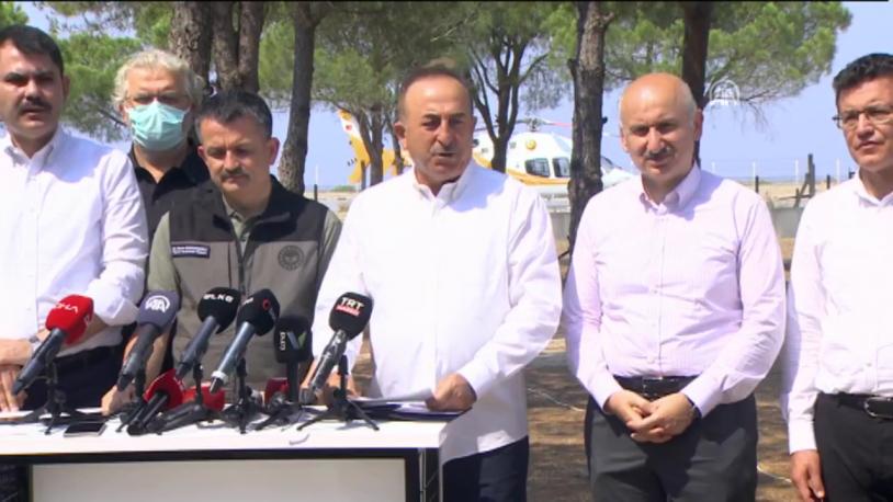 Mevlüt Çavuşoğlu: Yardım hesabı açıldı, milletimiz cömerttir