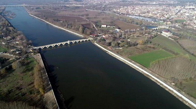 Edirne barajları su miktarı 30 milyon metreküp arttı
