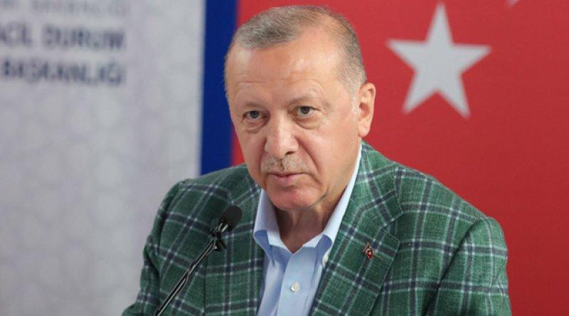 Erdoğan, THK uçaklarının neden kullanılmadığını açıkladı