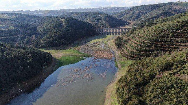 İstanbul'da barajların doluluk oranı artmaya devam ediyor
