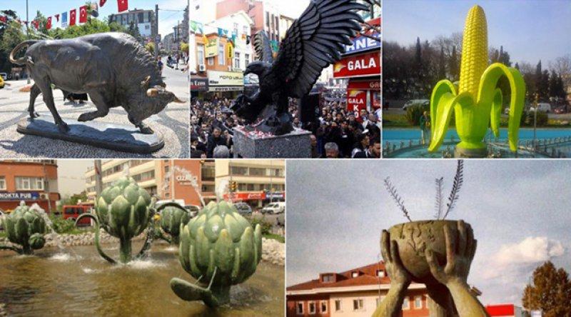 Ülkemizde yapılan en garip heykellerden bazılarını derledik...