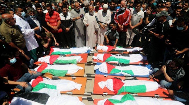 Gazze'deki Sağlık Bakanlığı: İsrail'in Gazze saldırılarında 145 Filistinli hayatını kaybetti, yaralı sayısı bini geçti