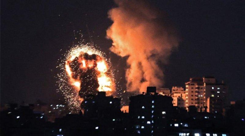 Gazze'de 'Kudüs'ün Kılıcı' operasyonu başlatıldı