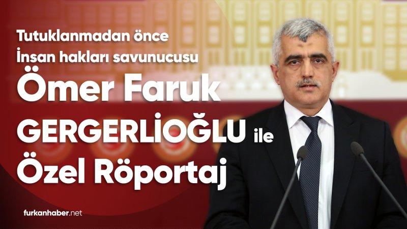 Gergerlioğlu'nun Tutuklanmadan Kısa Süre Önce Furkan Haber'e Verdiği Özel Röportaj!