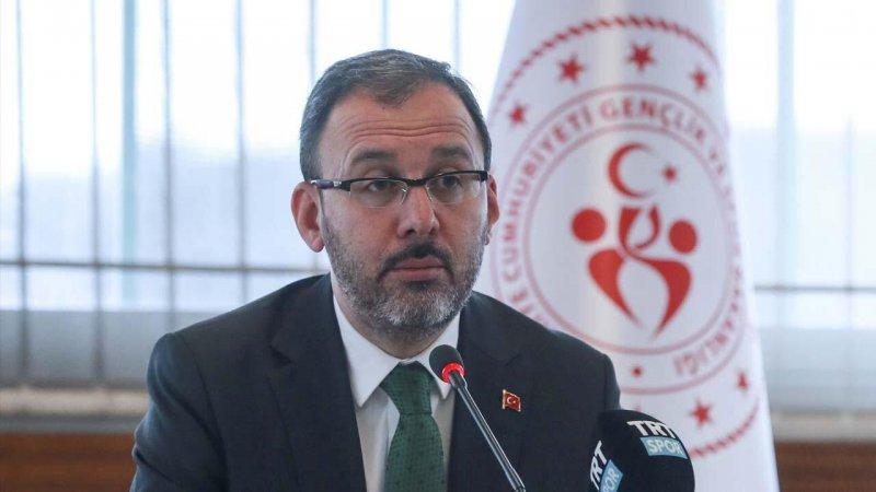 Gençlik ve Spor Bakanı Mehmet Kasapoğlu'ndan öğrenci yurtlarıyla ilgili açıklama