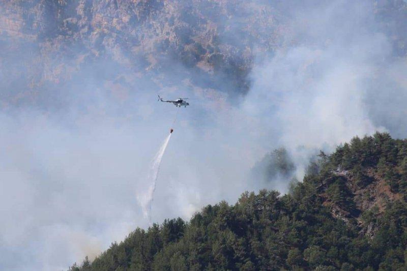 Orman Bakanlığı: 70 yangın kontrol altında, 11 yangın devam ediyor