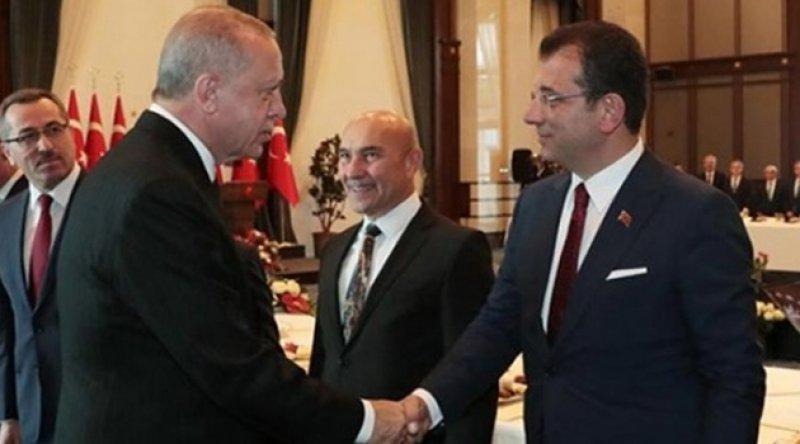 Erdoğan ile görüşen İmamoğlu, iki talepte bulundu