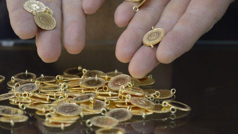 Altında düşüş sürüyor; gram 497 lira