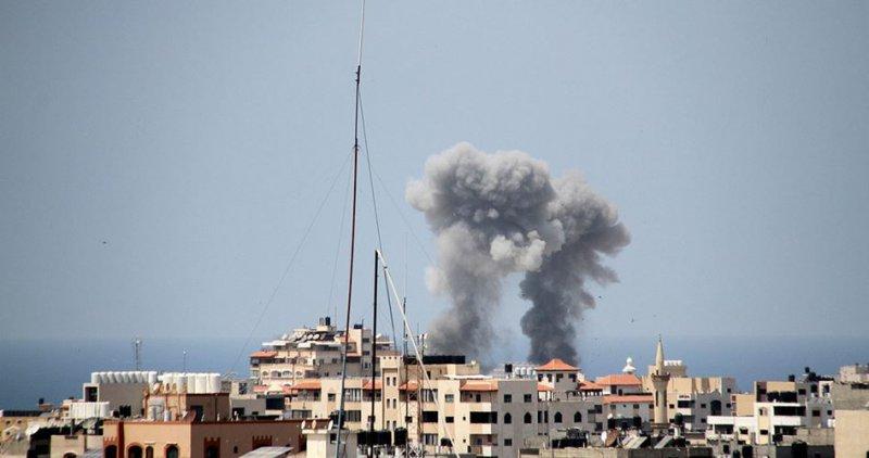 İşgal güçleri Gazze'ye saldırdı: 9 şehit