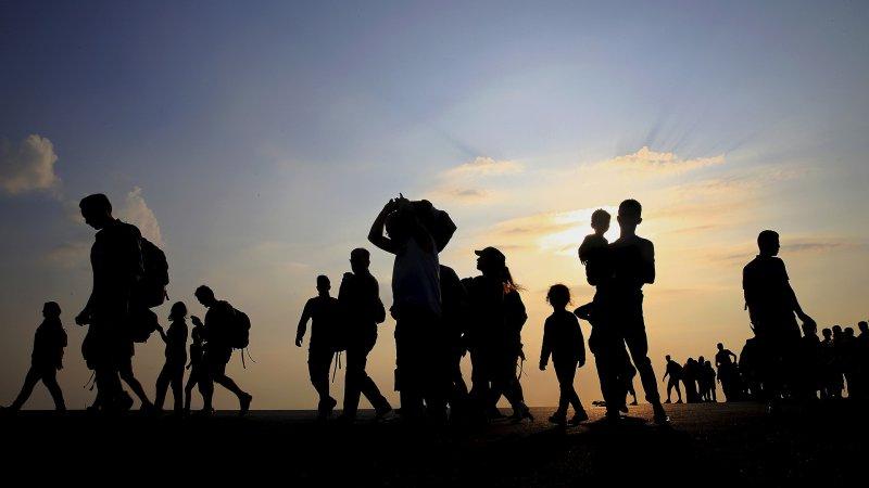 Son bir haftada 686 düzensiz göçmen kurtarıldı
