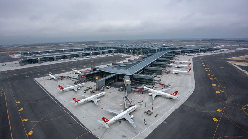İstanbul Havalimanı pandemi sebebiyle 218 bin uçuş kaybetti