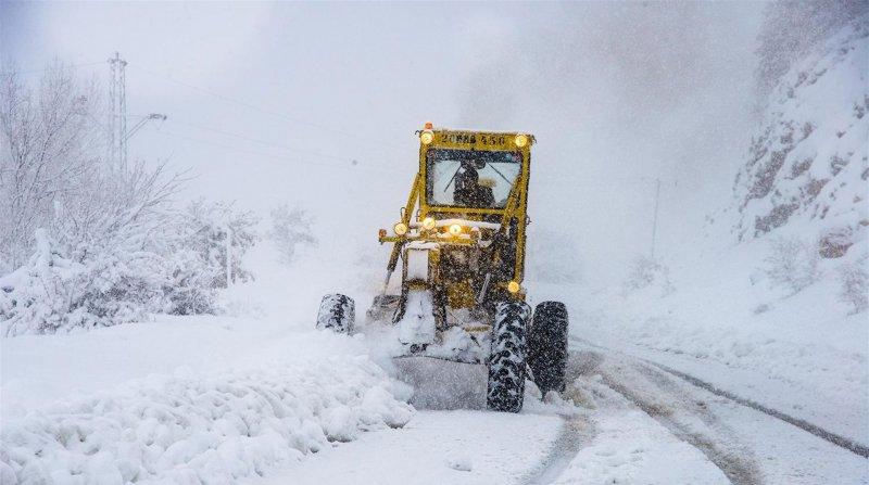 Bitlis, Van, Siirt ve Muş karayolları ağır vasıtalar için ulaşıma kapatıldı