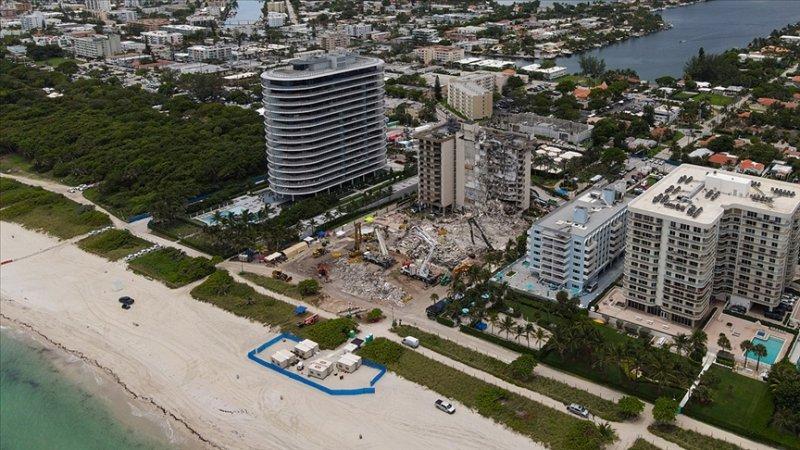 Miami'de çöken binadaki son kayıp kişi de bulundu, ölü sayısı 98 oldu