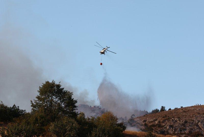 Ankara'da orman yangını: Müdahale sürüyor