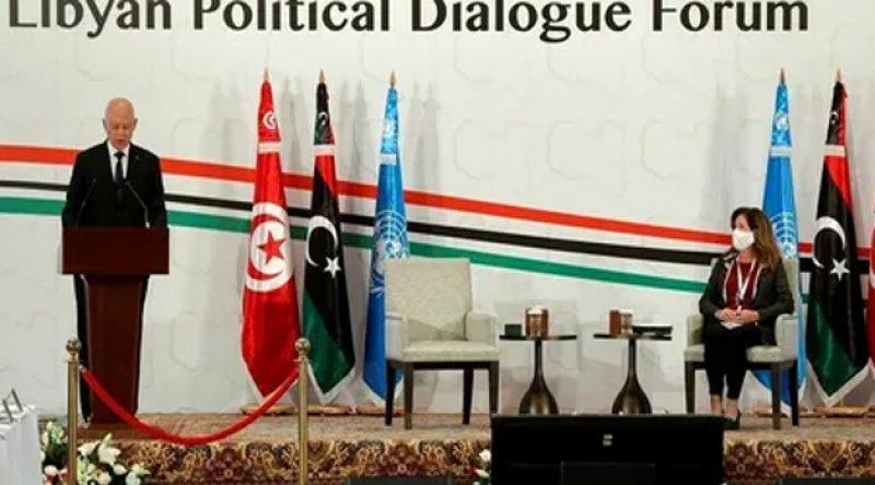 """Libya başbakanı: """"Türkiye sayesinde Doğu Akdeniz'deki gaz yataklarından iyi bir pay kazandık"""""""