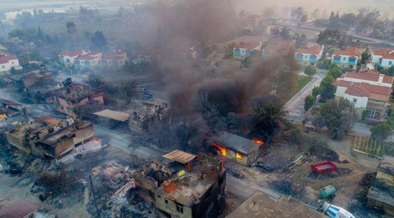 Yangınlardan etkilenen beş ilde elektrik faturası ödemeleri üç ay ertelendi