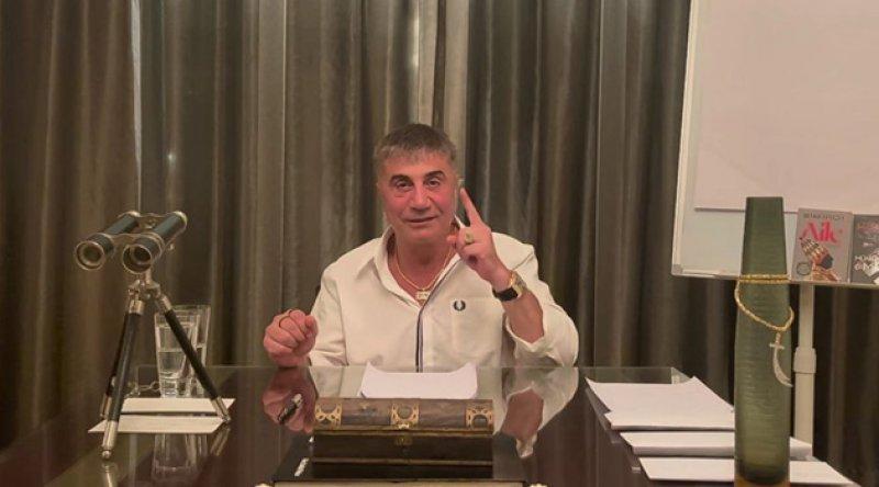 """Sedat Peker'den 9. video: """"Sülü sen Yüce Divan'a gideceksin, yargılanacaksın, hiçbir şansın yok"""""""