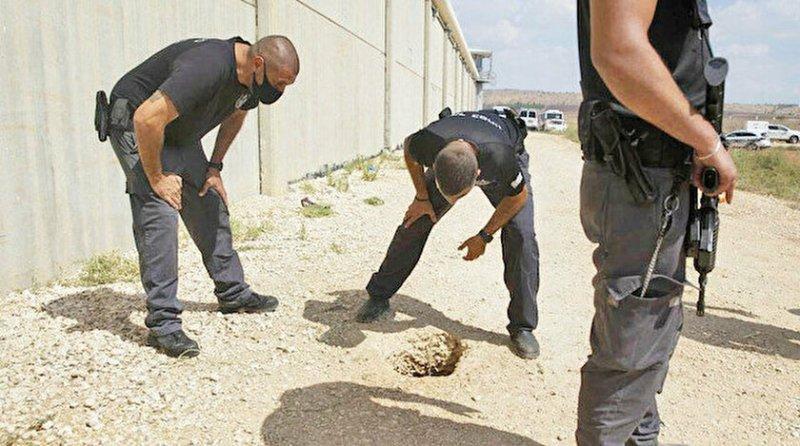 İşgalci İsrail hapishanesinden kaçan 6 Filistinliden 4'ü yakalandı