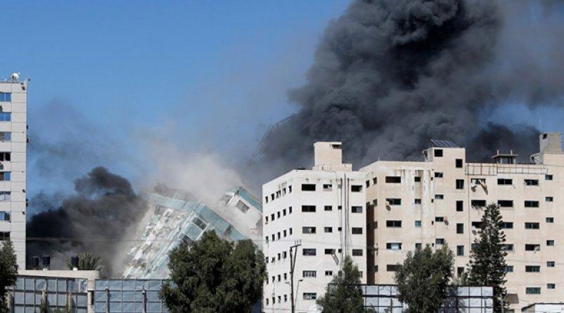 Al Jazeera'den İsrail'in saldırısına tepki: Barbarca bir eylem