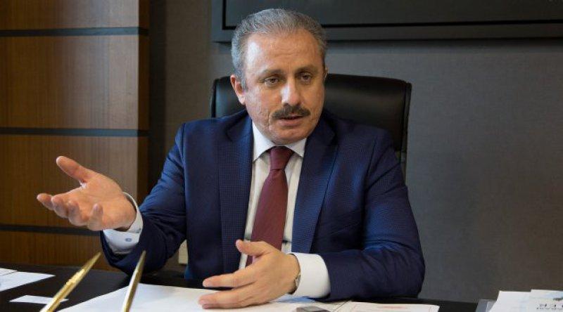 TBMM Başkanı Mustafa Şentop'tan AB ve ABD'ye KKTC tepkisi