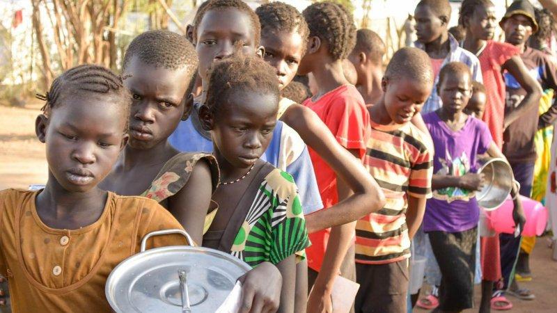 BM: Güney Sudan'da 100 binden fazla kişi açlık kriziyle karşı karşıya