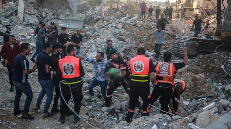 Gazze'nin ekipmana ve kurtarma ekibine ihtiyacı var