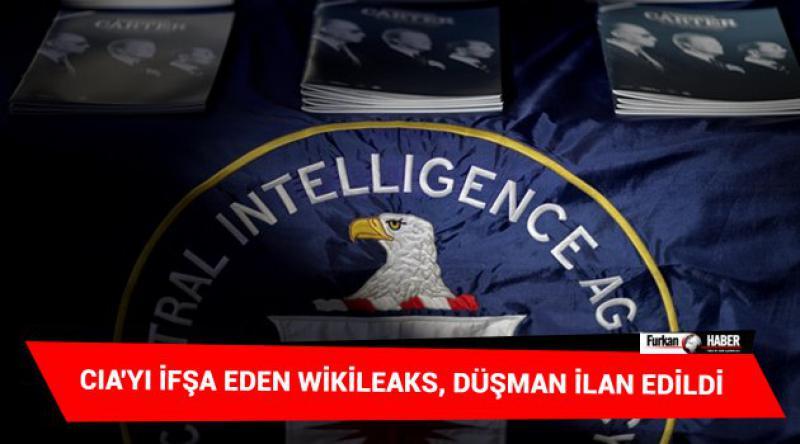 CIA'yı ifşa eden Wikileaks, Düşman İlan Edildi