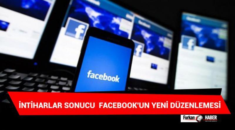 İntiharlar Sonucu Facebook'un Yeni Düzenlemesi