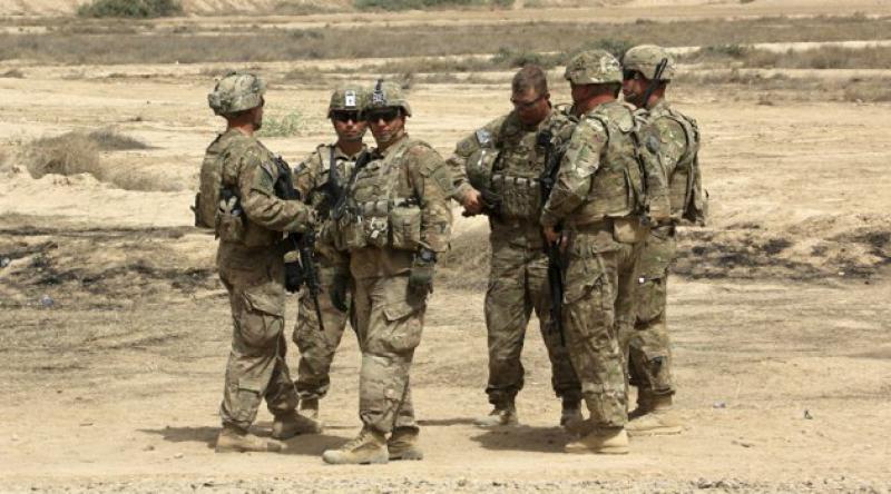 İşgalci Amerika askerleri Türkiye sınırında