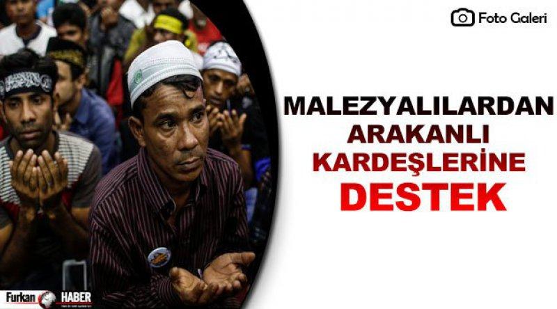 Malezyalılardan Arakanlı Kardeşlerine Destek