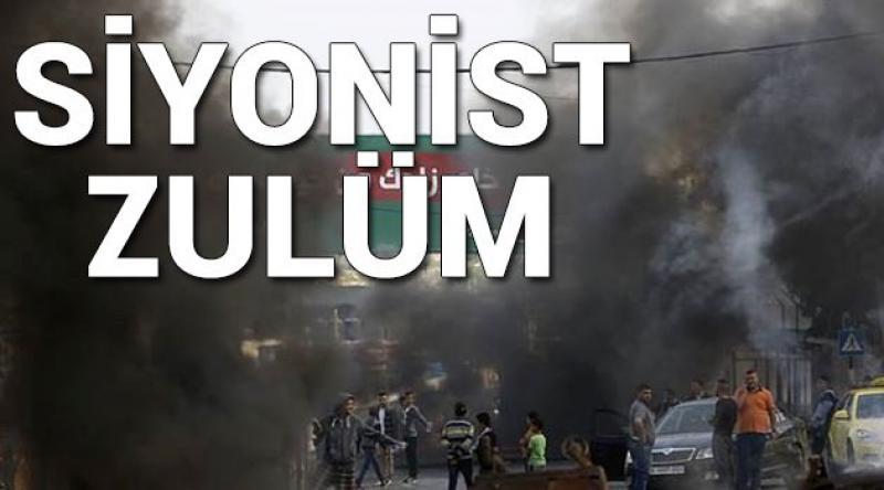 Maskeli Siyonistler 5 Filistinliyi Kaçırdı