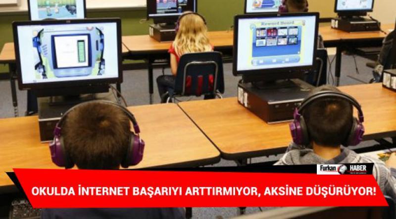 Okulda İnternet Başarıyı Arttırmıyor, Aksine Düşürüyor!